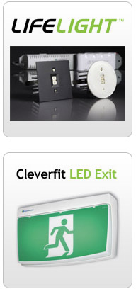 LED Exit Lighting Image